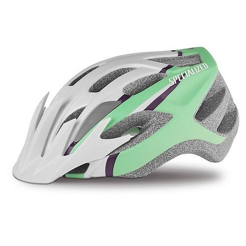 specialized sierra cykelhjelm hvid grøn Matte Mint Arc dame women