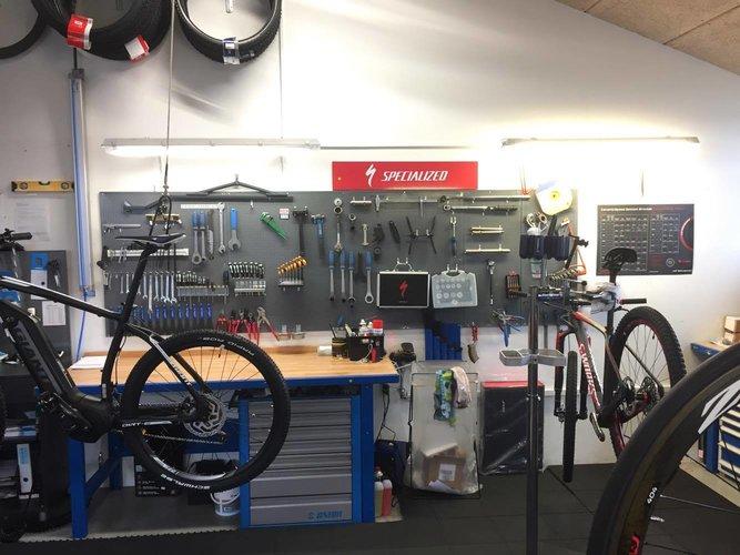 Cykelværksted i Rødekro