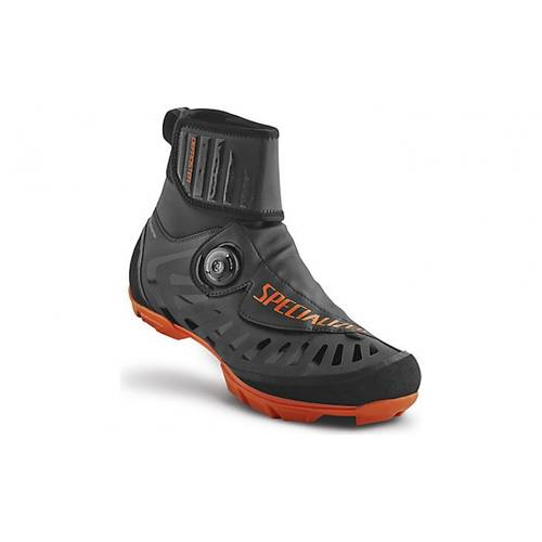 Specialized Defroster Trail MTB Vinterstøvle Sort Orange