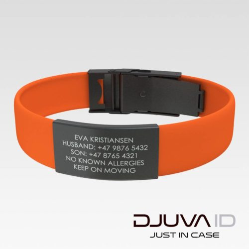 Djuva ID-armbånd