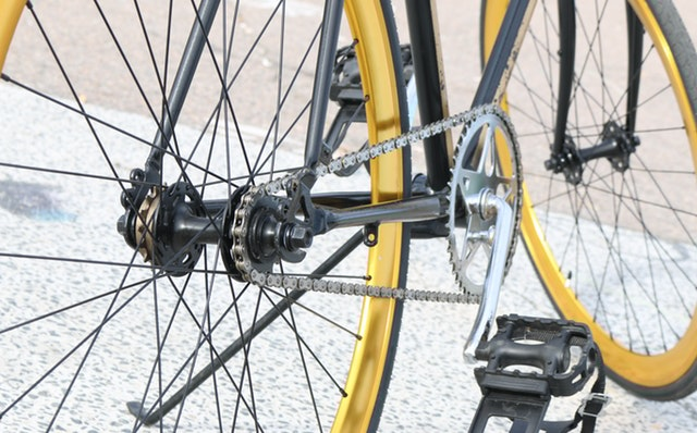 Montering af baghjul