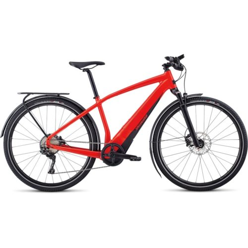 Specialized Turbo Vado 4.0 NB Citybike rød