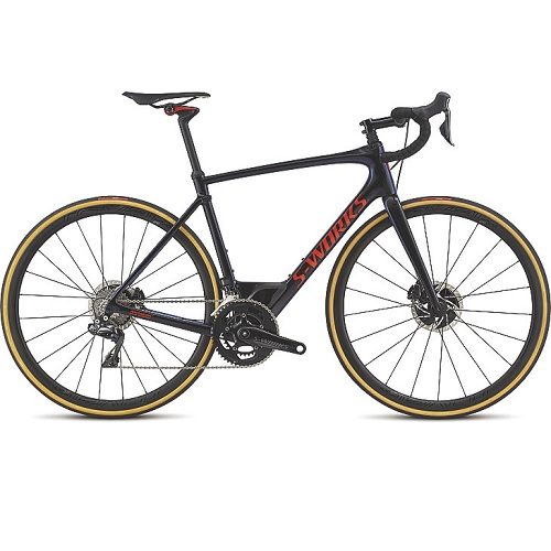 Specialized S-works Roubaix Dura-Ace DI2 Racercykel Sort Tarmac black