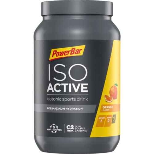 PowerBar IsoActive Energi Pulver 600g Orange