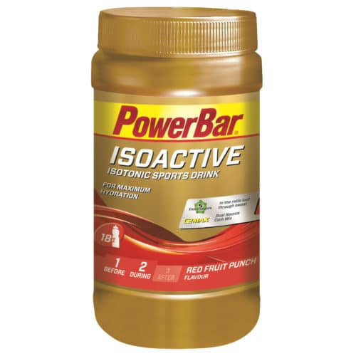 PowerBar IsoActive Red Fruit Energi pulver
