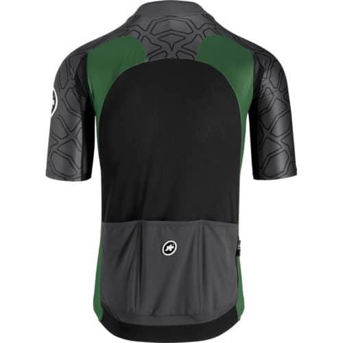 Assos XC Short Sleeve Jersey Cykeltrøje Grøn Bag