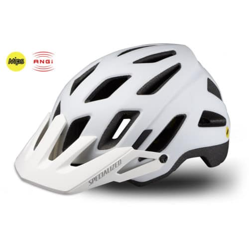Specialized Ambush Comb cykelhjelm med MIPS og ANGi hvid