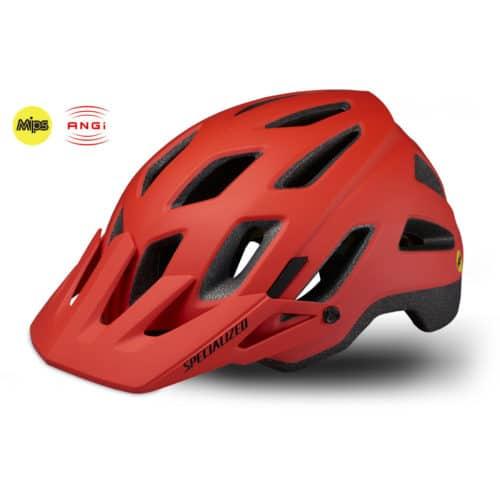 Specialized Ambush Comb cykelhjelm med MIPS og ANGi Rød