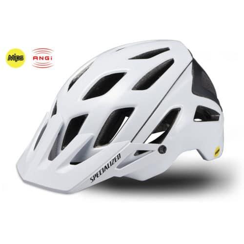 Specialized Ambush cykelhjelm med MIPS og ANGi hvid