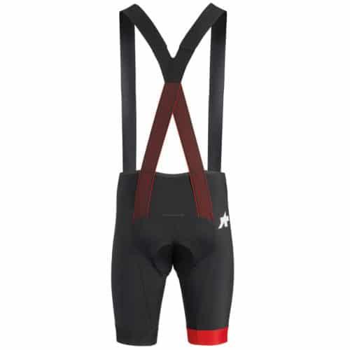 Assos Equipe RS BIB Shorts S9 Cykelbukser National Red Rød