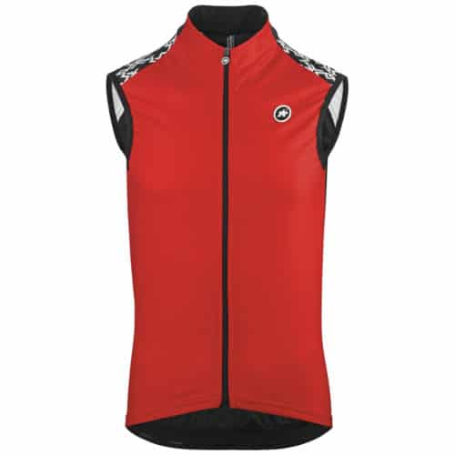 Assos Mille GT Spring Fall Vest Red