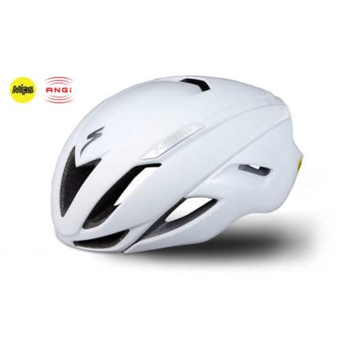 Specialized S-Work Evade cykelhjelm med MIPS og ANGi hvid