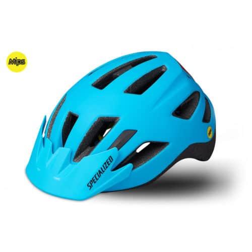 Specialized Shuffle Child LED MIPS cykelhjelm nice blue