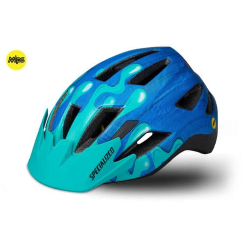 Specialized Shuffle Youth LED MIPS cykelhjelm til unge nice blue