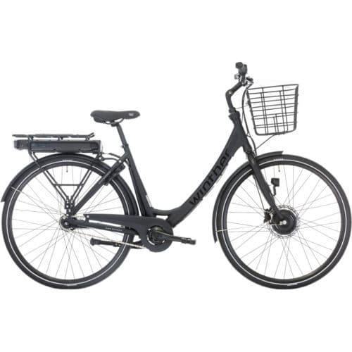 Black Winther E1 Dame 5 Nexus 7g Elcykel citybike shopper