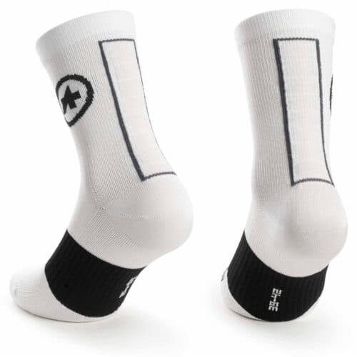 Assos ASSOSOIRES Summer Socks hvid back
