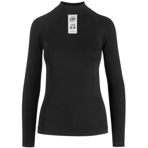 Assos SKINFOIL Winter Base Layer Langærmet Undertrøje sort
