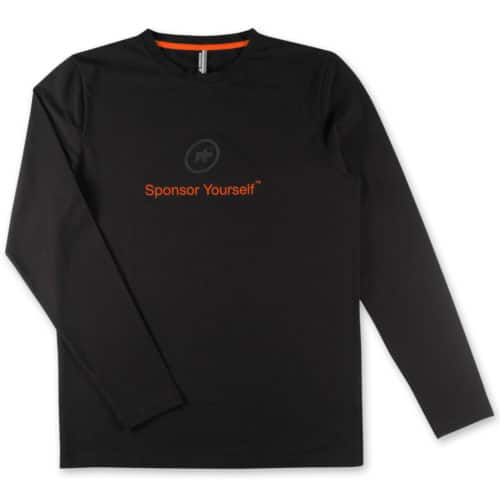 Assos Sponsor Yourself Langærmet T-shirt orange