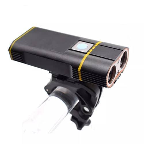 Astra Angel Eyes 600 Lumens Cykellygte LED 4400mAh genopladeligt batteri