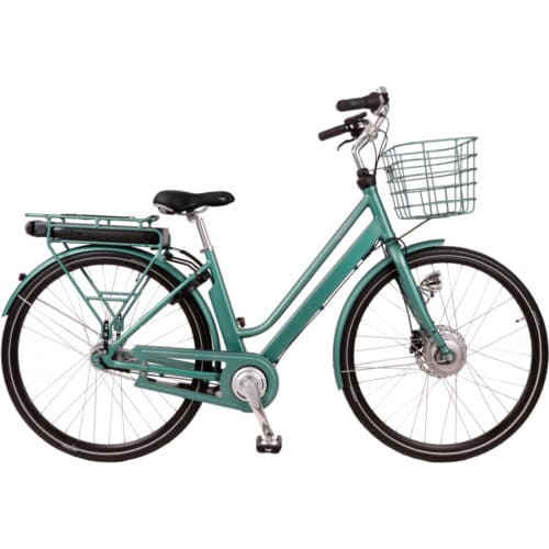 Raleigh Sussex E1 Dame Disc Elcykel shopper