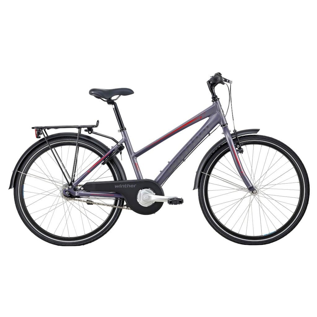 Winther 300 Pigecykel 7 Gear 24″ | børnecykel
