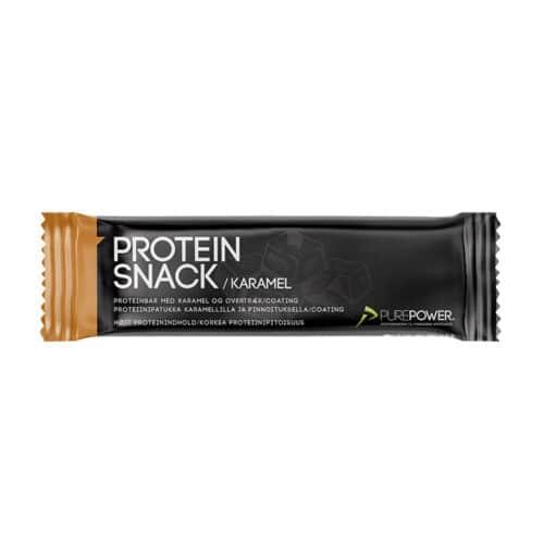 PUREPOWER Protein Bar Karamel med Chokoladeovertræk 40g