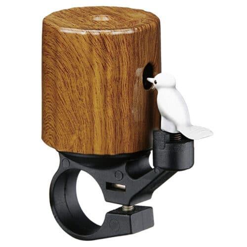 Bike Attitude Woodpecker Brun 22,2mm Ringeklokke