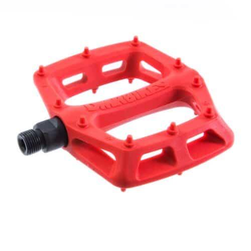 DMR V6 Pedaler Plastic m. Stål Aksel Rød