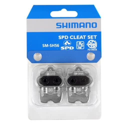 Shimano SM-SH56 SPD Cleat Set Klamper med Plade