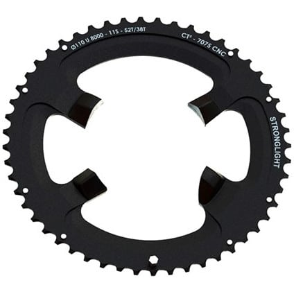 STRONGLIGHT Chainring Ø110 mm (Shimano Asymmetric) Inner (double) 34T 4 holes