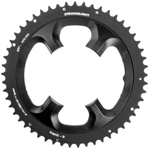 STRONGLIGHT Chainring Ø110 mm (Shimano Asymmetric) Outer (double) 53T 4 holes