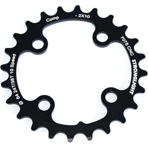 STRONGLIGHT Chainring Ø64 mm Inner (double) 24T 4 holes