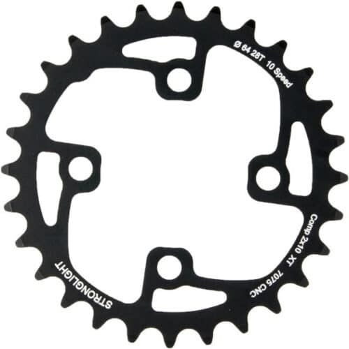 STRONGLIGHT Chainring Ø64 mm Inner (double) 28T 4 holes