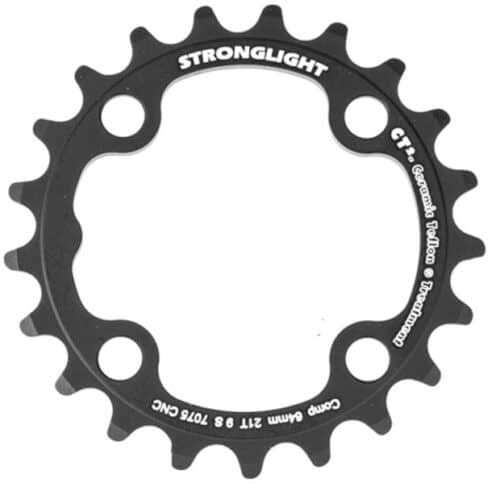 STRONGLIGHT Chainring Ø64 mm Inner (triple) 21T 4 holes